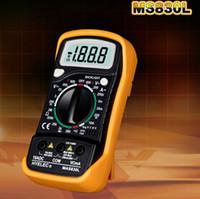 Wholesale Portable digital multimeter measure the voltage Current multimeter MAS830L