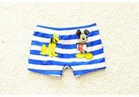 Cheap 2016 new children's swimming trunks pants Korean cute cartoon baby male child big boy swimsuit BH1721