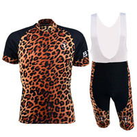 best clothes brands - Short Sleeve Road Bike Jerseys Cool Leopard Print Cycle Jerseys Best Cycling Brands Clothing Hot Sale BX L