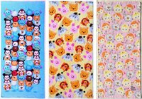 Wholesale 35 cm New Coming Tsum Tsum Cotton Big Towel hand towel many designs mix sent