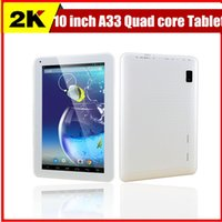 android tablet 10 inch - Cheapest inch A33 Quad core Tablet pc GB GB Android Kitkat WIFI Dual Camera Bluetooth OTG quot tablets
