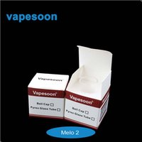 Wholesale Original vapesoon glass tube melo glass tube for eleaf melo tank ml Replacement