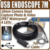 Wholesale Mini USB Endoscope Waterproof Borescope Snake Scope M Cable Inspection Camera