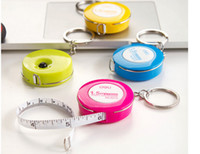 Wholesale Sweet candy mini tape measure Soft plastic tape leather tape measure CM
