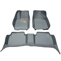 Wholesale New arrival Hot sale Three generations car mats all round PVC plaid type safety floor carpet