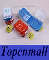 Wholesale Factory Price Folca Pill Portable Plastic Cases Splitters Medicine Storage Boxes Pill Box Tablet Case Jewelry Case Organizer