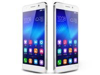 Original Huawei Honor 6 teléfono 4G LTE FDD-LTE WCDMA Dual sim Kirin 920 octa core 3GB Ram 16GB / 32GB ROM android 4.4 13MP/5MP DHL