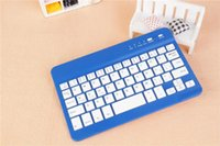 Wholesale 5PCS Universal Ultra Slim Aluminum Wireless Bluetooth Keyboard For ipad mini IOS Android Windows tablet PC