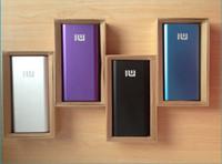 Nouvelle arrivée 6 couleurs réel 20000 mAh Ultra mince banque d'alimentation d'énergie de polymère, la centrale électrique avec l'emballage de détail et de charge UPS navire câblier
