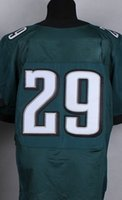 Wholesale 2015 New Transfer Football Jerseys Green American Football Elite Jersey Stitched Authentic Game Jersey Mix Order