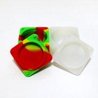 beverage tubs - Nonstick Food Grade Silicone Wax Container Ml Bho Silicon Box Tub Jar Wax