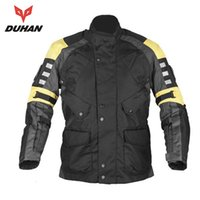 Wholesale DUHAN Motorcycle Enduro Racing Jacket Travel Riding Dirt Bike ATV Motocross Off Road Jaqueta Clothing with Five Protecter Gear