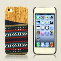 Cheap Unique Style for iphone 5 5S 6 plus Samsung Galaxy S5 Note 4 3 Wove Wood Wooden Grain Case PC Plastic cover with Credit Card Slot Free DHL