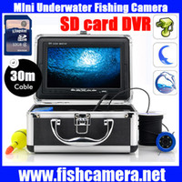 underwater video camera - 30M underwater camera Portable DVR Mini Fishing Underwater Video Camera underwater fish camera With quot Color Monitor And HD Camera