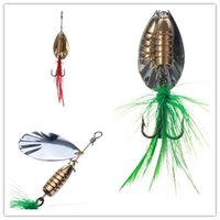 Wholesale Hot selling Fishing Baits Lures Rotating sequins fishing lure reflective bass artificial bait fishing tackle lures