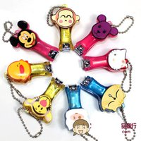 Wholesale Creation Cartoon Mickey Stainless Steel Nail Clipper Cutter Trimmer Manicure Models Selected Home Product Gifts Or Keychain ZJ N03
