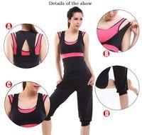 aerobic mat - Yoga Top Women Yoga Sportswear Fitness Clothing Set Authentic Yoga Clothes Suit Korean Aerobic Fitness Aerobics Clothing Woman