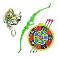 archery set toy - New arrvial funny toy Archery Green Arrow Set bow and arrow shooting sports outdoor sports