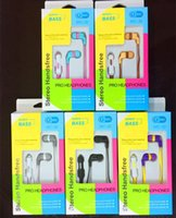 Wholesale Super Quality MM in Ear Earphones Headphones With Mic cheap Price retail package