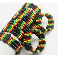 Cheap african style wooden beads bracelets Best Charm Bracelets African wood bangle