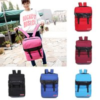 Wholesale Unisex Big Capacity Backpack School College Rucksack Travel Laptop Bag Satchel