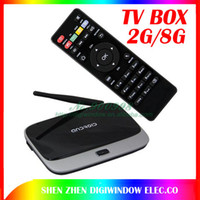 Wholesale Q7 CS918 MK888 MK888B MK918 K R42 T R42 All in One Android TV Box Quad Core Smart IPTV Receiver Media Player HDMI WiFi XBMC