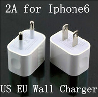 air ac adapter - 5V A iPhone US EU AU Plug Home Wall Charger AC Travel USB Adapter for iPhone S S Samsung Galaxy S5 S4 S3 Note4 HTC iPad Air US08
