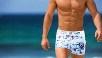 Wholesale mens Fashion swimming trunks surfing cool swimwear swimsuit spa men leisure swimwear sexy man beach board shorts colors