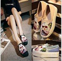 Wholesale High Quality Big Girl Shoes Fashion Cartoon Shoes Leather Shoes Women Spring Gauze Casual Shoes For Kids A1DA41