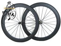aero racing wheels - Full Carbon Fiber Road Bike Wheels C35 C50 mm k Weave Racing Bicycle wheelset Outside Sports with Aero Spoke
