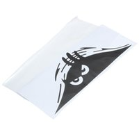 Wholesale Peeking Monster PVC Scratches Auto Car Walls Window Sticker Funny Protective Vehicle Car Decals cm