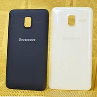Wholesale Original Battery Cover for Lenovo A850 Back Cover Case genuine battery door Housing White Black