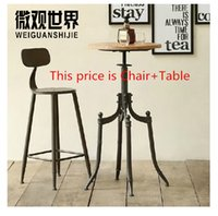Wholesale loft do the old antique style wrought iron tables and chairs coffee chair lift chair casual coffee tables Coffee tables