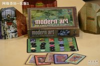 art board games - modern art auction board game card game english version simple pakage party game reiner knizia