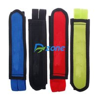Wholesale 1 Pair Fixed Gear Fixie BMX Bike Bicycle Double Velcro Nylon Clip Pedal Strap