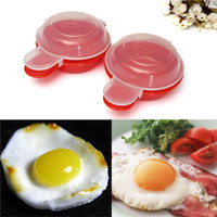 Wholesale 2Pcs Nonstick Saving Time Microwave for Egg Omelet Bowl Maker Omelette Cooker Cookware Cooks Fast Minutes Home Kitchen order lt no track