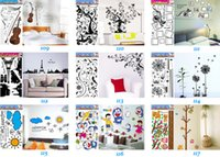 Wholesale Mix Order Kids Wall Stickers Children Room Wall Decor Nursery Wall Decals Stickers Wall Art x68cm