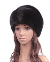 Wholesale The new mink fur hat ms MAO mink hat high quality whole earmuffs mink hat in winter to keep warm in winter