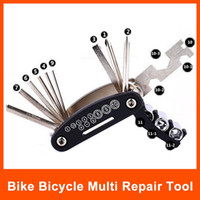 Wholesale Bike Multi Repair in Multi Bike Bicycle Repair Tool Kit Hex Spoke Cycle Screwdriver Tool set B060