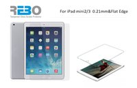 Wholesale Grand REBO Tempered Glass Protector For ipad mini mm Flat Edge Anti oil High Clear Screen Protetive Film