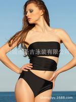 Wholesale Ms Slim beautiful sexy trade factory direct piece swimsuit ribs swimsuit Senge