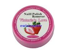 Wholesale Nail Art Polish Remover Pad Vanish Wet Wipes Paper Towel Remover Pads Nail Art Beauty Tool