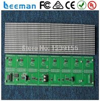 advertising technologies - Leeman Sinosky new technology Shop advertising P4 P4 P6 P7 P8 P10 P12 scrolling led dot matrix display