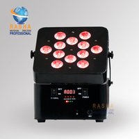 Wholesale Led Power Cans - NEW Arrival Freedom Profile 12pcs*18W 6in1 RGBAW+UV Battery Powered Wireless LED Slim Par Can,ADJ LED Par Light,Stage Battery Par Light