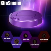 Wholesale Klinsmann Brand Mini Intelligent Robot Vacuum Cleaner Smart Household Vacuum Cleaner Auto Sensor Quiet Efficient CE ROHS