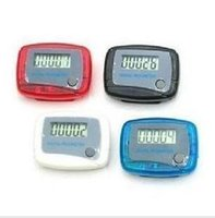 Wholesale 2014 A44 one button pedometer running fitness pedometer single function pedometer electronic pedometer