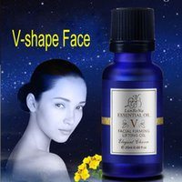Wholesale Upgrade V shape Thin Face Lotion Essence Oil Remove Fat Fine Line Enhance Outline Slimming Shaping Facial Lift Skin Care Lanbena
