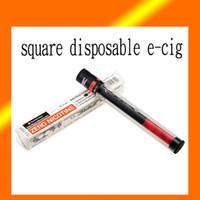 Cheap 2015 square disposable e hookah pen atomizer with battery together hookah pen disposable e hookah is undetachable 0208013