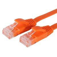 utp cat 6 cable - 300PCS FT M CAT6 CAT Flat UTP Ethernet Network Cable RJ45 Patch LAN cable