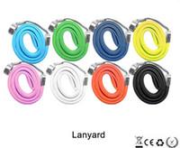 Wholesale EGO STRING EGO ego ring ego necklace ego lanyard ego Necklace String Neck Chain Lanyard rope for ego electronic cigarettes